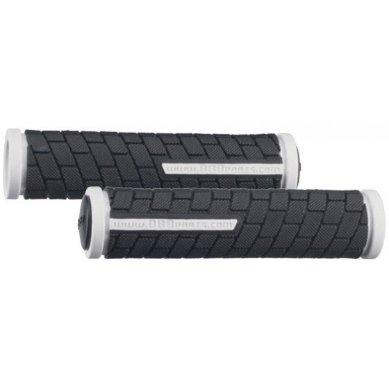 Грипсы BBB DualGrip 125mm black/white (BHG-06)