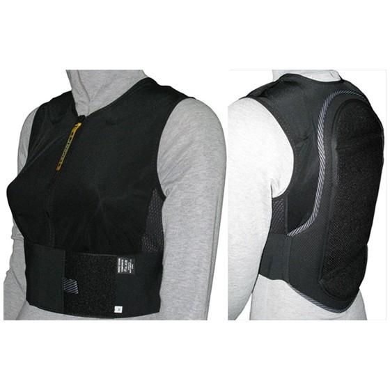 Защитный жилет BIONT 2016-17 Жилет с защитой спины 2XL черный