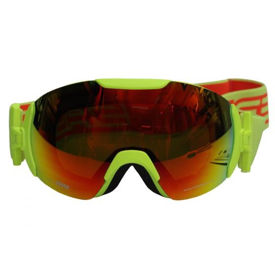 Очки горнолыжные Salice 2016-17 604DARWF YELLOW/RW RED