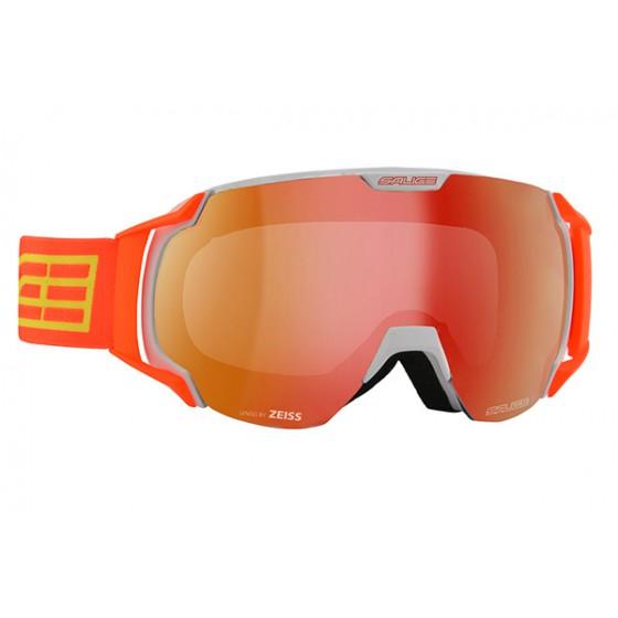 Очки горнолыжные Salice 619DARWF WHITE/RWRED