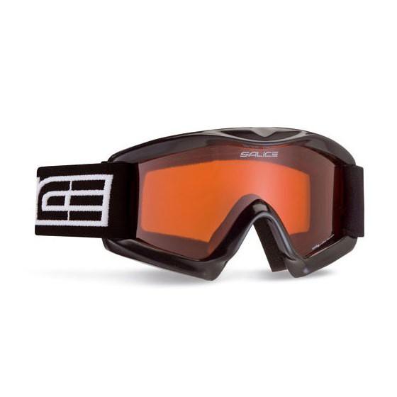 Очки горнолыжные Salice 897DAV BLACK/ORANGE