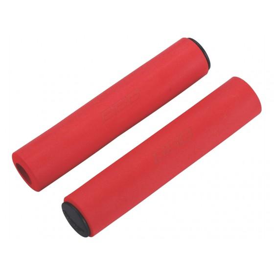 Грипсы BBB 2015 grips Sticky 130mm red (BHG-34)