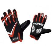 Перчатки велосипедные BBB FreeZone black red (BBW-29_black red)