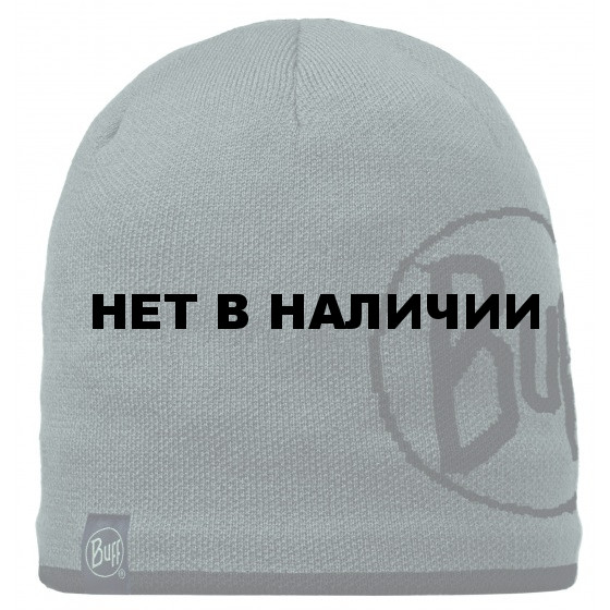 Шапка BUFF 2015-16 KNITTED HATS BUFF LOGO GRAPHITE