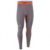 Брюки Bjorn Daehlie UNDERWEAR Pants WARM Shark/Tangerine Tango (Серый/оранжевый)