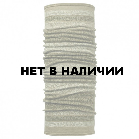 Шарф BUFF 2016-17 Wool BUFF Patterned & Dyed Stripes MERINO WOOL BUFF KITUE LIGHT MILITARY
