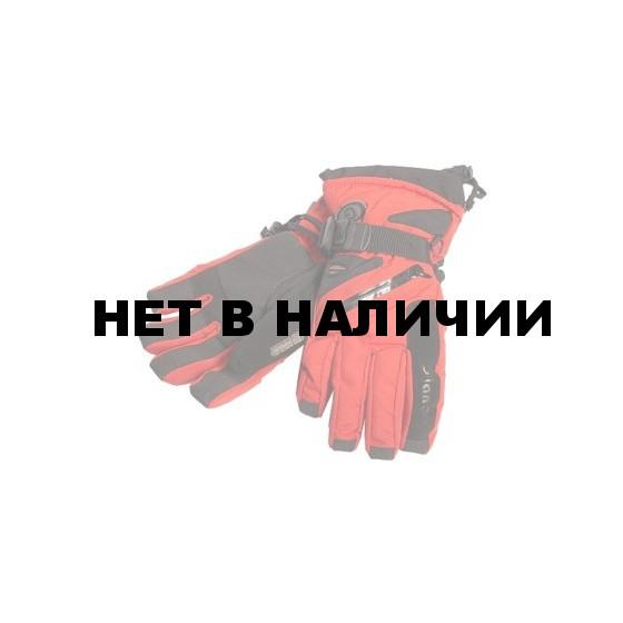 Перчатки горные GLANCE Fighter (red/black) красный/черный