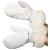 Варежки GLANCE Lady Mitten (white) белый