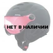 Зимний Шлем Alpina JUMP JV VHM black matt Varioflex mirror