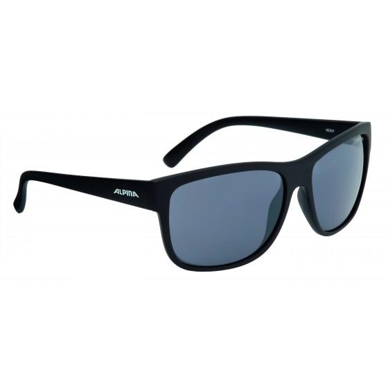 Очки солнцезащитные ALPINA SPORT STYLE HEINY black matt