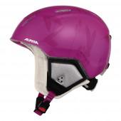 Зимний Шлем Alpina CARAT XT pink-flower matt