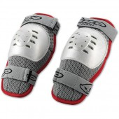 Защита колена NIDECKER 2016-17 short knee guards Kids white/red