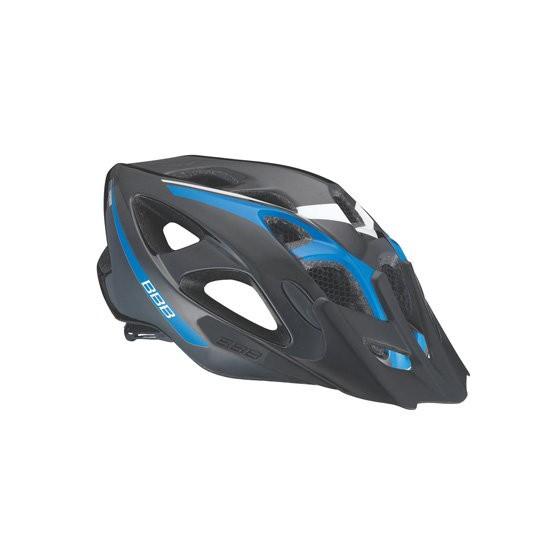 Летний шлем BBB Elbrus with visor matt black/blue (BHE-34)