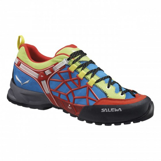 Треккинговые кроссовки Salewa Tech Approach MS WILDFIRE PRO Flame/Cactus /