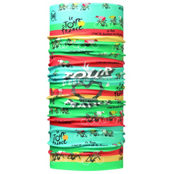 Бандана BUFF 2016 TOUR DE FRANCE HIGH UV BUFF® ROUTE 16 MULTI-MULTI