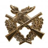 Кокарда Егерская служба металл