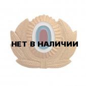 Кокарда МВД на фуражку металл