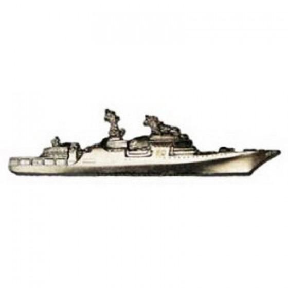 Нагрудный знак Большой противолодочный корабль металл