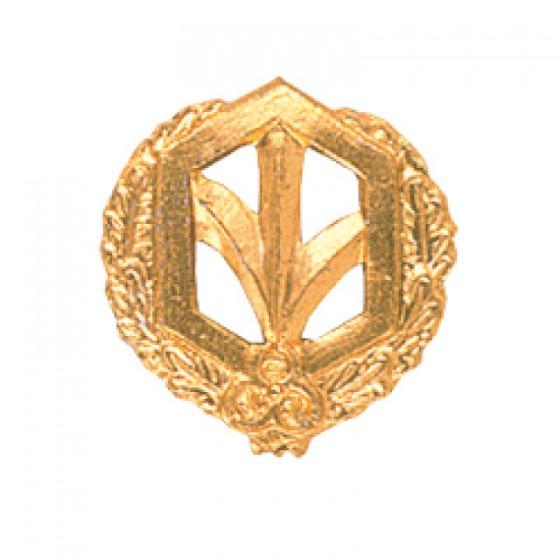 Эмблема петличная РХБЗ повседневная металл