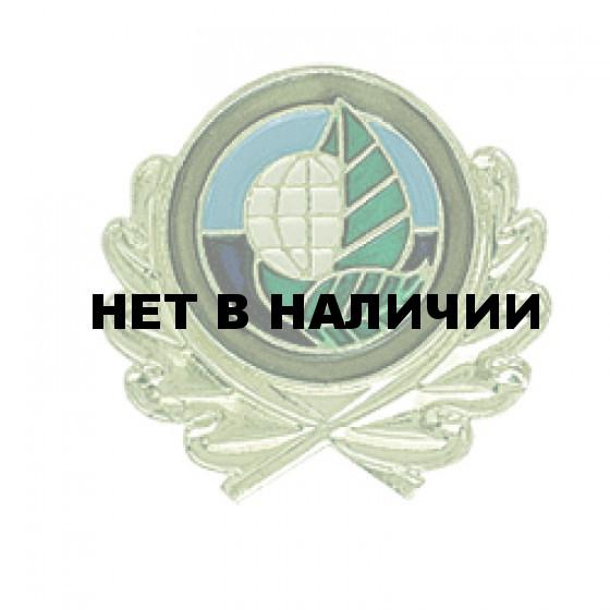 Эмблема петличная Экология металл