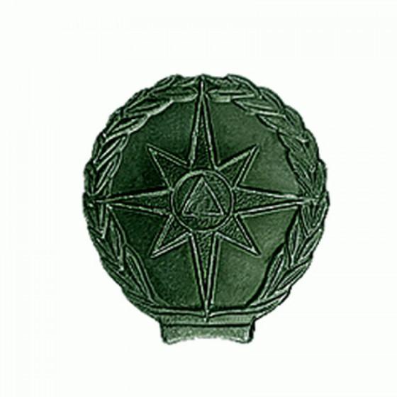 Эмблема петличная МЧС полевая металл