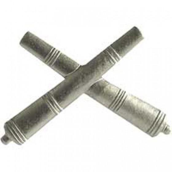 Эмблема петличная РВиА нового образца полевая металл