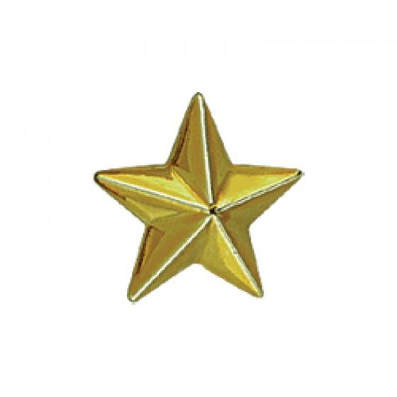 Знак различия Звезда малая золотая металл