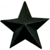 Знак различия Звезда УИС большая черная металл