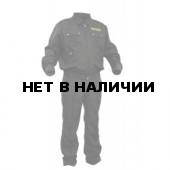 Костюм летний ГЕФЕСТ черный, ткань Грета