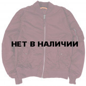 Куртка Ma-1 Maroon Alpha Industries L