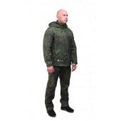 Куртка с капюшоном МПА-26 (ткань софтшелл), камуфляж зеленая цифра