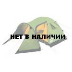 Четырехместная туристическая палатка с большим тамбуром KSL Cherokee 4 зеленый
