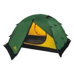 Универсальная двухместная туристическая палатка с двумя входами и двумя тамбурами Alexika Rondo 2 Plus зеленый