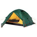 Универсальная трехместная туристическая палатка с двумя входами и двумя тамбурами Alexika Rondo 3 Plus зеленый