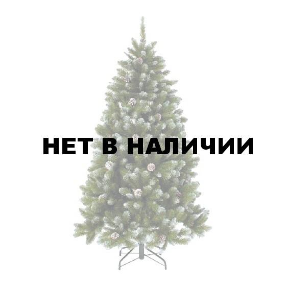 Елка Триумф Императрица с шишками заснеженная 73541 (215 см)