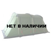 Палатка с двумя спальнями (4+4) и тамбуром посередине KSL Cruiser 8 зеленый