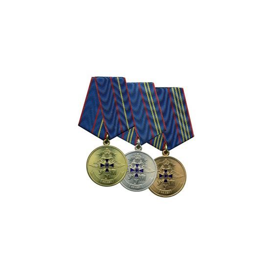 Медаль 85 лет Службе УУМ 1 степени металл