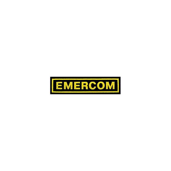Нашивка на грудь Emercom пластик
