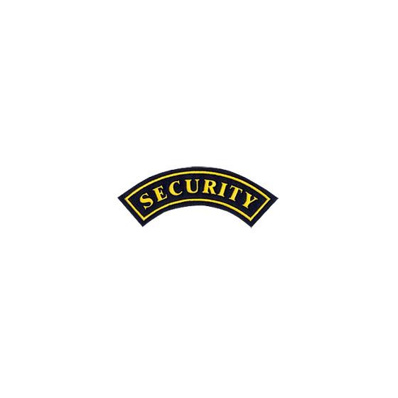 Нашивка дуга SECURITY вышивка шелк