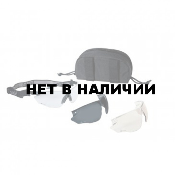 Очки Bolle Tactical COMBAT COMBKITS sand комплект