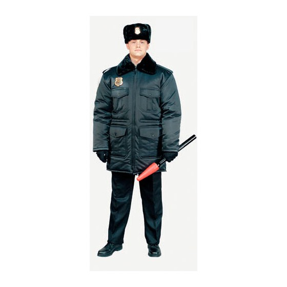 5218М куртка зимняя Охранник п\а