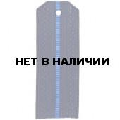 Погоны ВВС синие с 1 голубым просветом МО