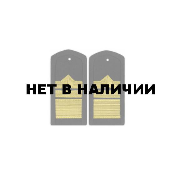 Погоны Речного флота 12 категория черные