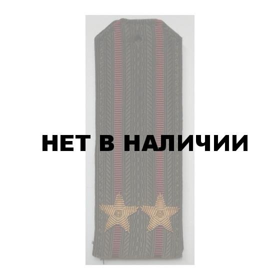 Погоны ВВ Подполковник вышитые латунь