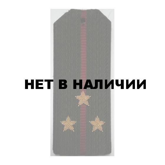 Погоны ВВ Старший лейтенант вышитые золото
