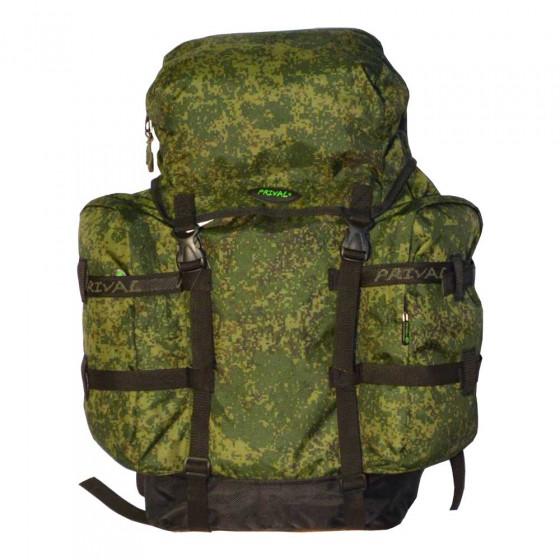 Рюкзак PRIVAL Кузьмич 55, камуфляж-цифра