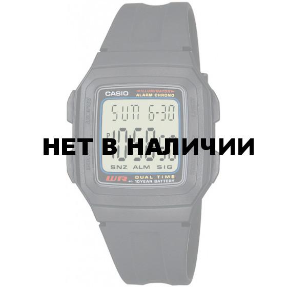 Часы наручные Casio F-201W-1A