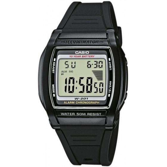 Часы наручные Casio W-201-1A