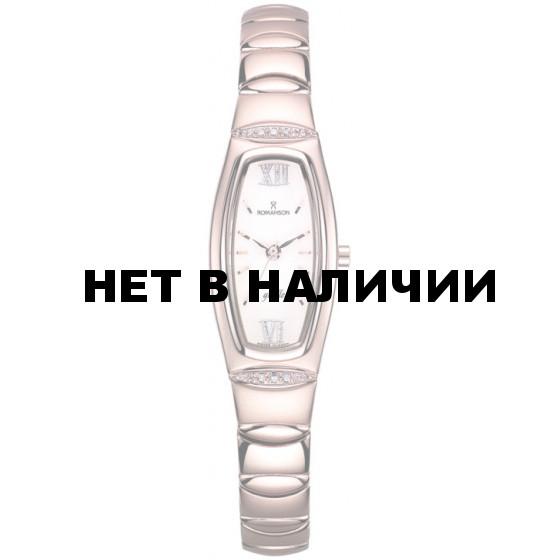 Женские наручные часы Romanson RM 2140Q LR(WH)