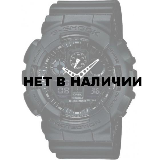 Мужские наручные часы Casio GA-100-1A1 (G-Shock)